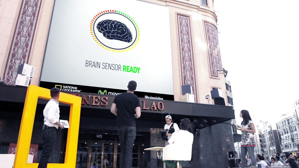 National Geographic Brain Games Interactive Billboard - Wildbytes
