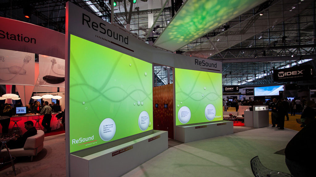 Interactive Projection Resound trade show - Wildbytes