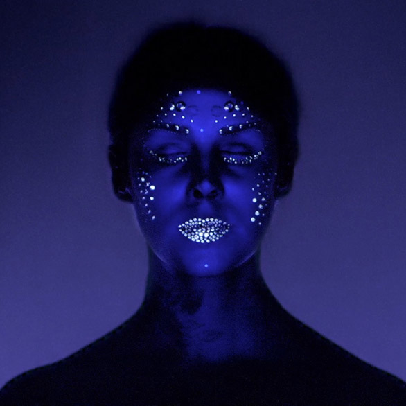 Sephora - Kat Von D - Wildbytes - Live Face Projection Mapping
