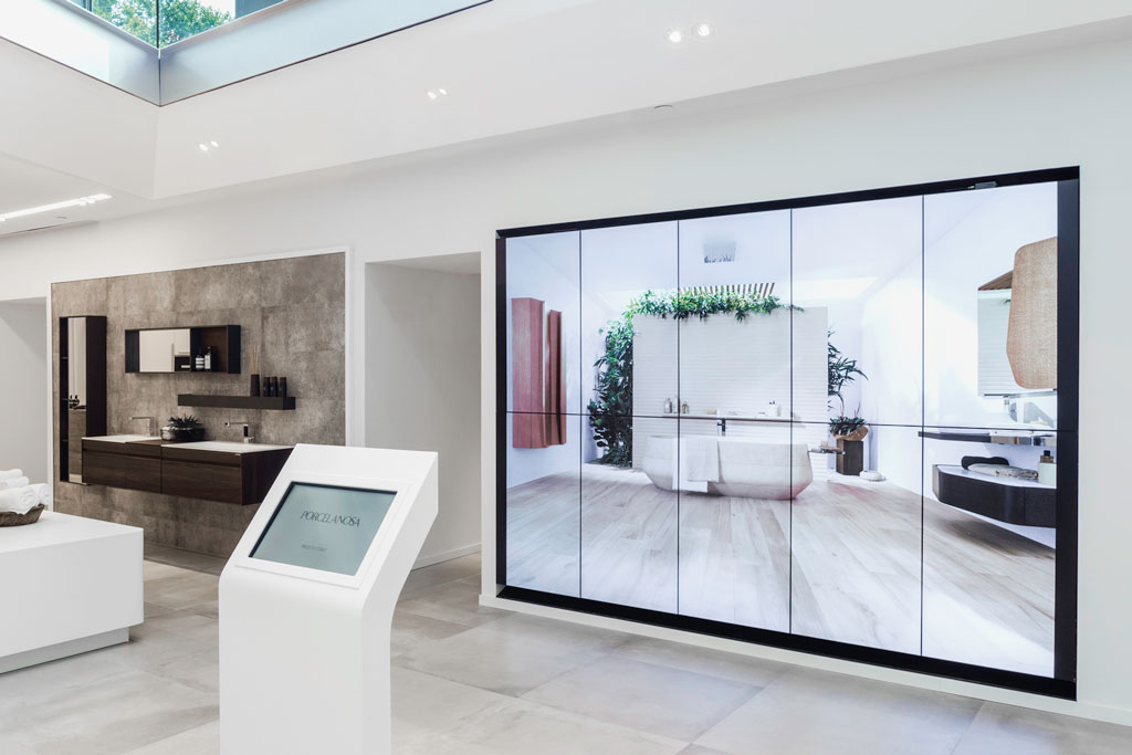 Immersive audiovisual retail experience for Porcelanosa NYC Flagship